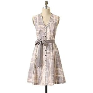 Anthropologie Maeve Magnifying Glass Dress 6